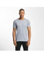 Lindbergh T-shirt Striped Mouline blu