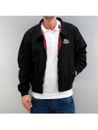 Lonsdale London Демисезонная куртка Acton Harrington черный