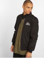 Lonsdale London Демисезонная куртка Harrington черный