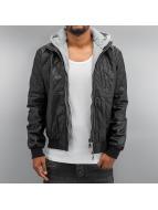 Lonsdale London Кожаная куртка Bonds черный
