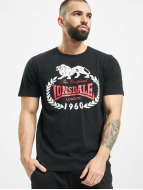 Lonsdale London Футболка Original 1960 черный