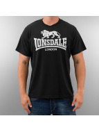 Lonsdale London Футболка Promo черный