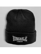 Lonsdale London Beanie Bobhat zwart