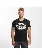 Lonsdale London Camiseta Caol negro