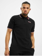 Lonsdale London Camiseta polo Lion Polo negro