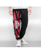 Lonsdale London joggingbroek Aspatria zwart