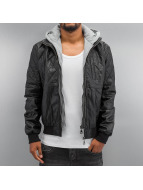 Lonsdale London Lederjacke Bonds schwarz