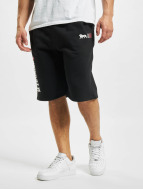 Lonsdale London Pantalón cortos Sidemouth negro