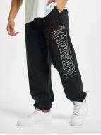 Lonsdale London Pantalone ginnico Dartford nero