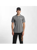 Lonsdale London poloshirt Dagenham Slim Fit grijs