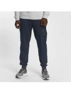Lonsdale London Spodnie do joggingu Logo Large niebieski