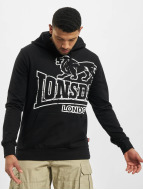 Lonsdale London Sweat à capuche Tadley noir