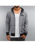 Lonsdale London Sweat capuche zippé London gris