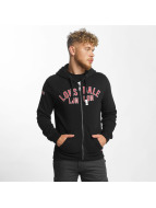 Lonsdale London Sweat capuche zippé Camelford noir