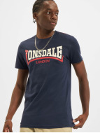 Lonsdale London T-paidat Two Tone sininen
