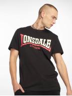 Lonsdale London T-Shirt Two Tone noir