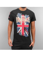 Lonsdale London T-Shirt Jacob schwarz