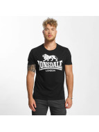 Lonsdale London T-shirt Caol svart