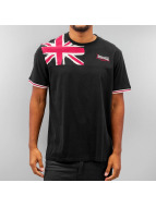 Lonsdale London t-shirt Leybourne zwart