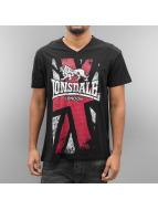 Lonsdale London t-shirt Denholm zwart