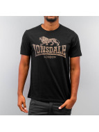 Lonsdale London T-Shirty Newhaven czarny
