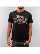 Lonsdale London T-skjorter Newhaven svart