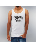 Lonsdale London Tank Tops Foxberry Slim Fit Rip Singlet weiß