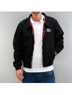 Lonsdale London Übergangsjacke Acton Harrington schwarz
