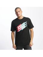 LRG Camiseta Ascending Stripes negro