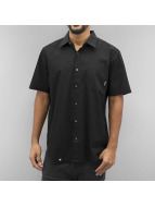 LRG Chemise Research Collection SS Popln Woven noir