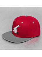 LRG Gorra Snapback Skate Giraffe rojo