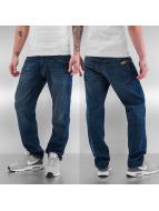 LRG Jean coupe droite Research Collection bleu