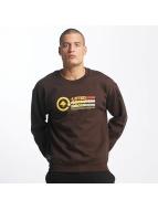 LRG Jumper Pixel brown