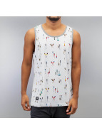 Lifted Crew Tank Top Whi...