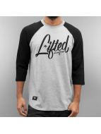 LRG Longsleeve Collection 3/4 Sleeve Raglan zwart
