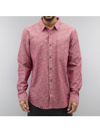LRG overhemd Desmond Chambray Woven rood