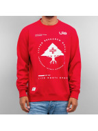 LRG Pullover Research Collection rot