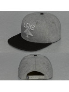 LRG Snapback Cap Research Collection grau