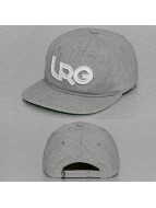 LRG Snapback Cap Branded grau