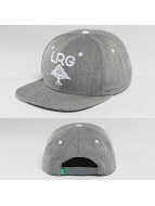 LRG Snapback Cap Research Group grau
