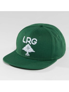LRG Snapback Cap Research Group green