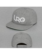 LRG Snapback Cap Branded grey