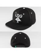 LRG Snapback Cap Research schwarz