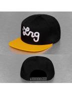 LRG snapback cap Logo zwart