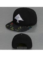 LRG snapback cap Splatter Floral zwart