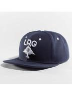 LRG Snapback Caps Research Group blå