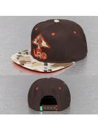 LRG Snapback Caps Camo Tree brazowy