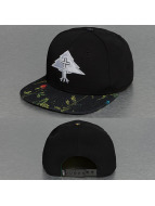 LRG Snapback Caps Splatter Floral musta