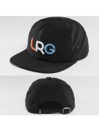 LRG Snapback Caps Branded musta