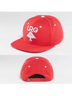 LRG Snapback Caps Research Group red